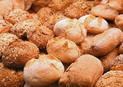 Brötchen von der Bäckerei in Weyarn